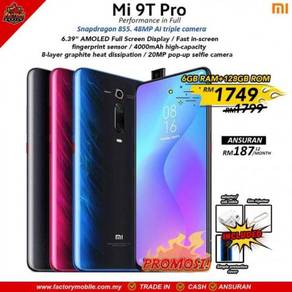 New Xiaomi Mi 9T PRO 6+128gb Msia Set
