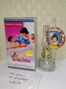 AKIBAT TERLALU BEBAS VHS Film Movie Video Tape
