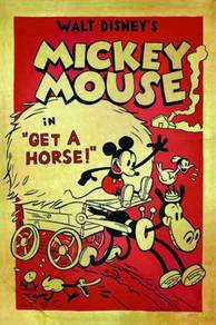 Poster MICKEY MOUSE VINTAGE