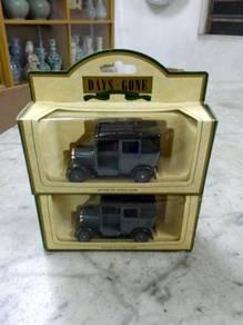 TExp England Lledo 1933 Austin Taxi Grey Vintage
