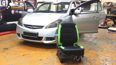 Proton Exora semi leather seat cover