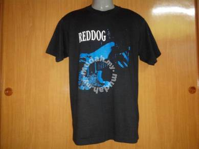Vtg red dog blues band tshirt