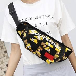 Supreme waist bag pouch Black Simpson New