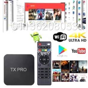 Tx Pro Android tv 4K new low spec tv box