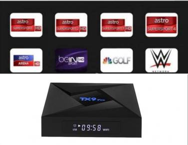 Tx9 ultra 3g/32g android octa box tv pro