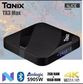 Tx3 pro 2g/16g Android max box tv ott