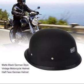 Jerman vintage motorcycle helmet half face