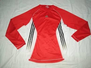 Adidas Climalite Red Long Sleeve L (Kod AX4173)
