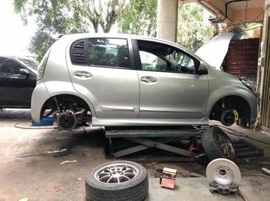 Upgrade system brake myvi