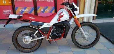 1984 Yamaha DT125 Scrambler (fully rebuild)