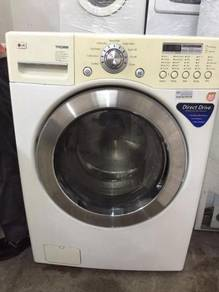Recon Dryer LG 14kg Mesin Basuh Combo Washer Kerin