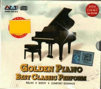 CD Golden Piano Best Classic Perform (3CD)