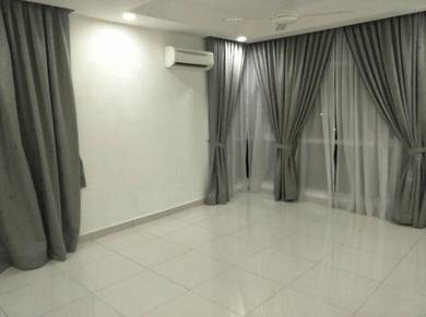Semi Furnished With Kitchen Cabinet House For Rent Sungai Besi Area