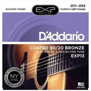 D'Addario EXP13 Coated 80/20 Bronze Strings