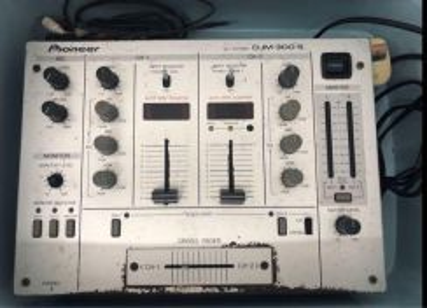 Pioneer DJM-300-S Professional DJ Mixer (used)