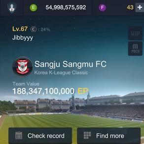 ID FIFA ONLINE 3 max level 23