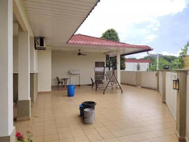 [ Taman Kempas Indah ] Renovated 1s Semi-D Hse End Lot Fully Furnished