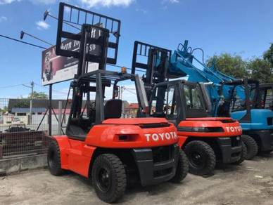 JAPAN TOYOTA 7 ton 6 ton Imported DIESEL FORKLIFT