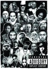 Poster GREATEST hip hop