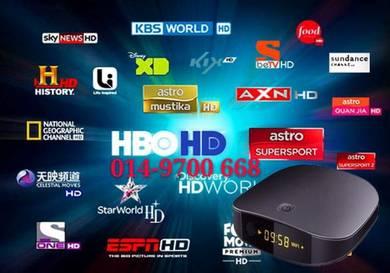 New (8GB) Tv 150000+Live Android Box 4K iptv
