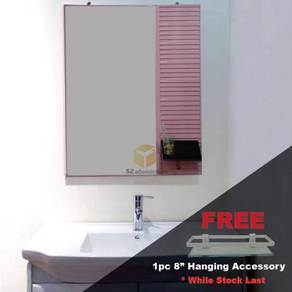Aluminium wall mounted hanging mirror (free gift)