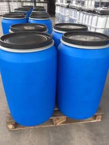 New Open Top Plastic Blue Drum - 220L