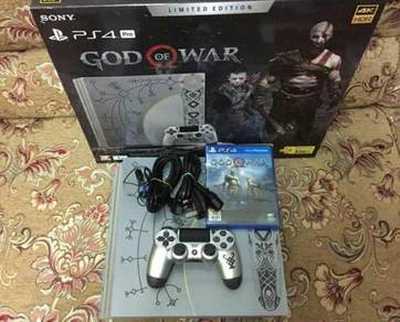 Ps4 pro god of war 4 limited edition