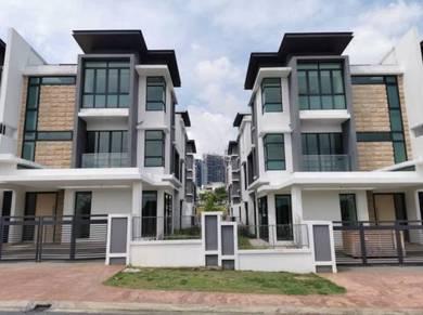 (new house) three storey superlink setia alam, shah alam, selangor