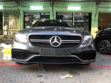 Mercedes benz w205 c63s C63 FRONT bumper bodykit