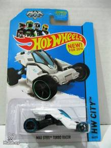 Hotwheels HW City Max Steel Turbo Racer #86 White