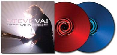 Steve Vai Where The Wild Things Are 180g 2LP (Red/