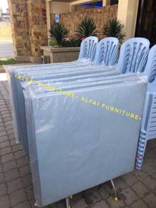 New Foldable Plastic Table meja plastik lipat