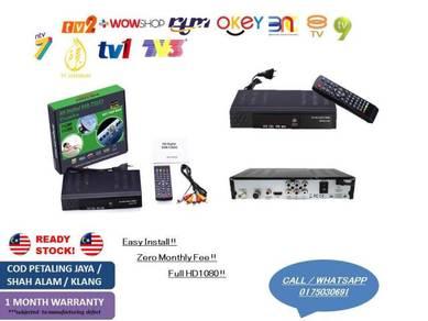 Dekoder Tune MYTV - Ada Button T2/S2