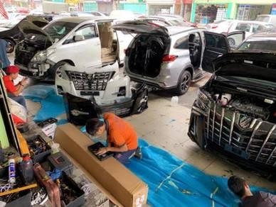 Toyota vellfire 2019 modelista bodykit body kit FL