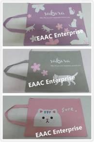 Sakura Cat Design Tuition Bag 34cm x 26cm Fit A4 s