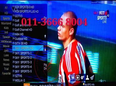 Western 18000+Live Tv Android Box UltraHD iptv