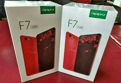 Oppo f7 new set originally
