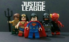 Justice League Toys Figure set not lego marvel