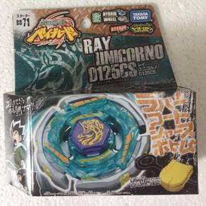 Takara Tomy Beyblade BB71 Ray Unicorno D125cs