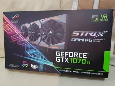 Asus GTX 1070TI Strix Gaming 8G GPU