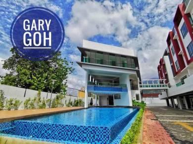 4 Storey Terrace Courtyard Landed 4489sqft Lift Ayer Itam UL Residence