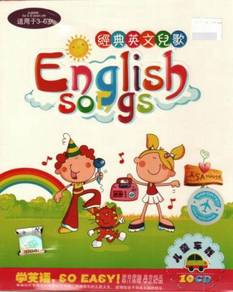 CD Classic English Songs - age 3-6 (10CD)