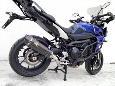 Yamaha MT09 Tracer ekzos Carbon DP Exhaust Exzos