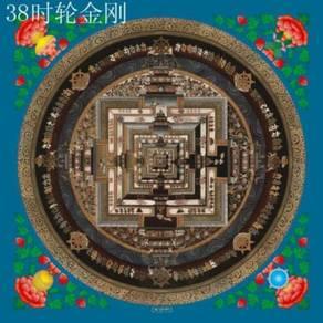 曼陀罗 Original mandala painting on canvas