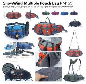 Snow Wind Waist Bag Multiple Waist Pouch