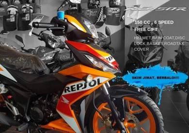 2019 honda rs 150 repsol / std ( deposit rendah )