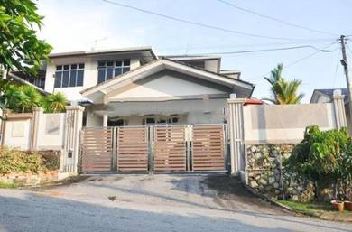 Double Storey Semi D House RENOVATED FREEHOLD 4R3B Taman Bukit Perdana