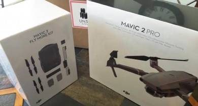 New DJI Mavic 2 Pro with Combo. Jual 15OORM jer