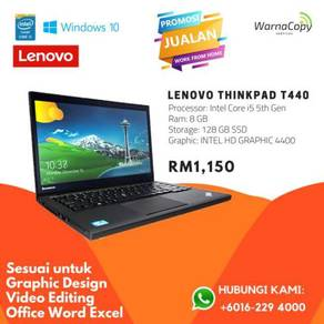 Lenovo ThinkPad T440 i5 g4 8gb SSD