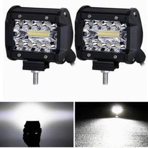 4 inch LED Work Light Bar 60W Bulb Spot 12V 24V